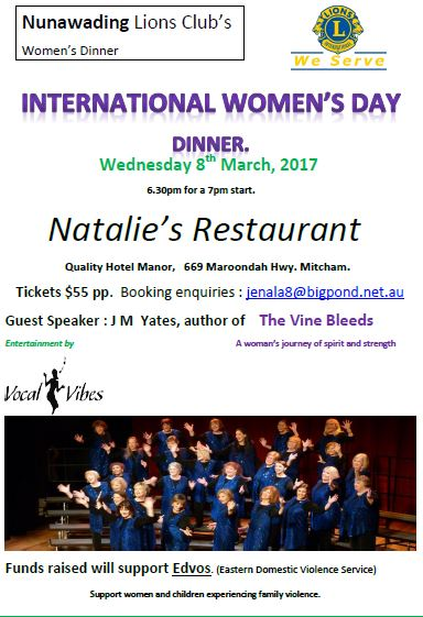 nunawading women I was partying with some pretty awesome women and would be delighted to participate at next event see more may 28 what a fantastic night the royal wedding dinner, organised by women of.